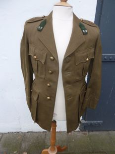 Old uniform jacket NL Army