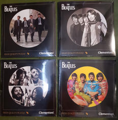 The Beatles : Complete Set of four Beatles puzzles