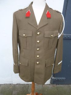 Old uniform of the Belgian army