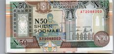 World - Somalia 50 x 50 Somali shilling and Trinidad and Tobago 50 x 1 dollar