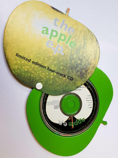 The Apple shape cd set Limited Edition