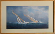 Maritime art painting reproduction /limited edition