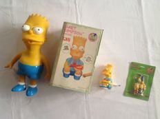 Bart Simpson - four different items