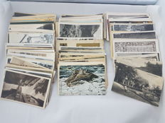 World -  lot of 240 items of postal history, post cards