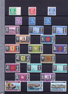 Guernsey 1969/2007 - A selection on stock pages