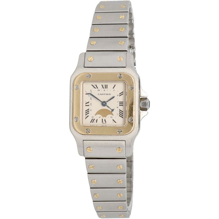 Cartier - Santos Moonphase - 119902 - Dames - 1990-1999