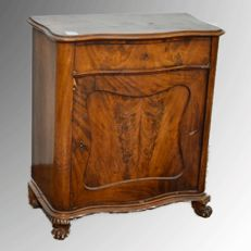 Small sideboard from the Biedermeier period - veneered in mahogany - Northern Europe - ca. 1840