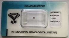 Natural Fancy Pink Diamond 0.05 ct  with IGI cert  ***No Reserve Price***