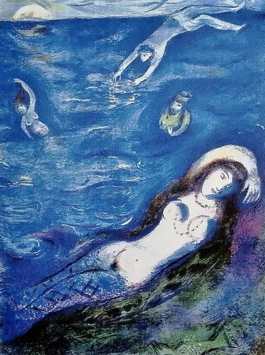 Marc Chagall (after) - : Arab Nights Number 5