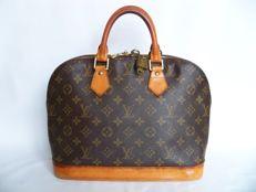 Louis Vuitton - Alma handbag and LV padlock (305) with 1 key - *No Minimum Price*