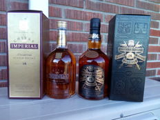2 bottles - Chivas Imperial Premium 18 and Chivas Regal 18 Rare Old