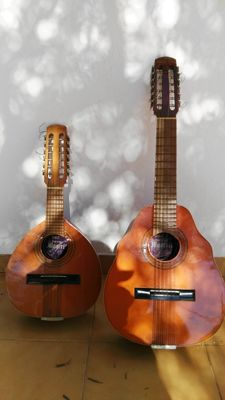 LOT OF MAGERIT BANDURRIA AND LUTE