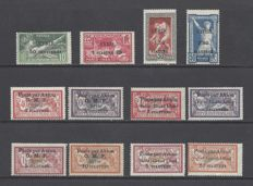 France Syria 1922/1924 - Small lot