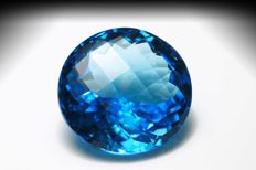 Swiss Blue Topaz – 17.60 ct