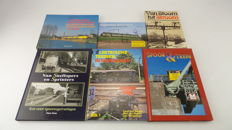 Books H0 - 6 books about the Netherlands railways, incl., electric trains of the Netherlands, Sprinters, and Plan T and V sets