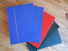 1950/2005 – Broad collection Federal Germany in 5 Stock albums – Huge value!!