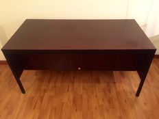 MIM - Office desk in rosewood, model:  'Sigma' - Numbered edition