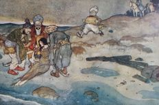Edmund Dulac; Laurence housman - Ali Baba and other stories from the Arabian Nights - [1911]