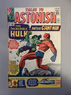Marvel Comics - Tales of Astonish #59 - with Incredible Hulk - 1x sc - (1964)