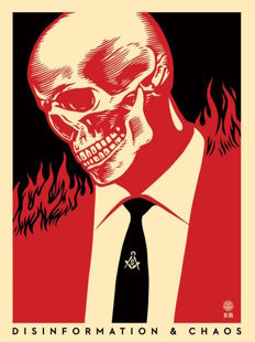 Shepard Fairey (OBEY) - Disinformation & Chaos
