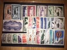 France 1927/1971 – Collection of Airmail stamps.