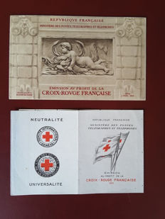 France 1952/2008 – In a Safe-Dual album, collection of the Red Cross booklets – Yvert Red Cross booklets no. 2001 to 2057.