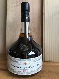 1984 Armagnac De Montal, AOC Bas-Armagnac - bottled in October 2014