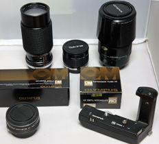 Lot of various Olympus items