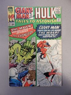 Marvel Comics - Tales of Astonish #62 - with First appearance of Leader - 1x sc - (1964)