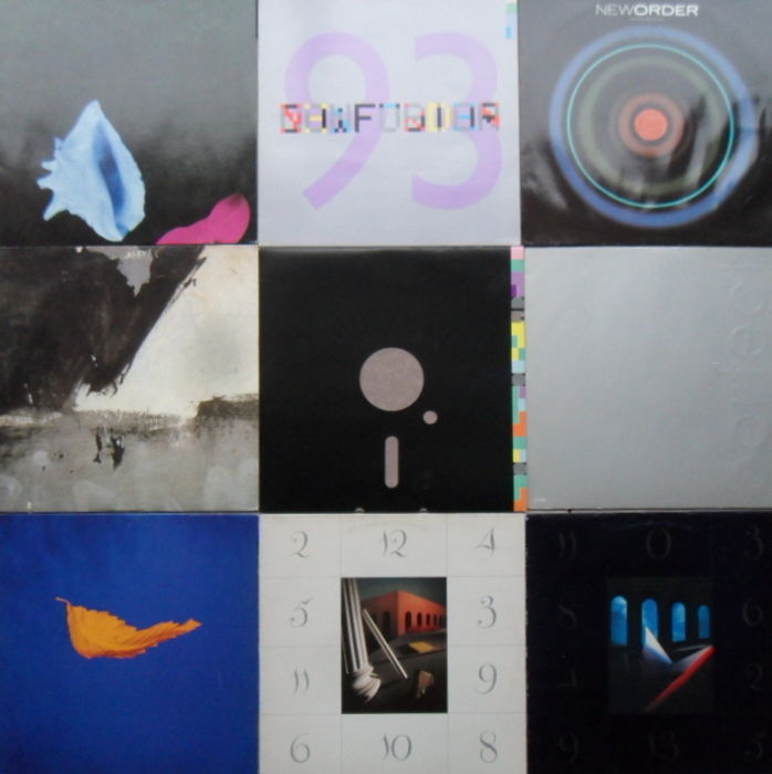 "New Order , 9 Fantastic  12 "" Inch Singles"