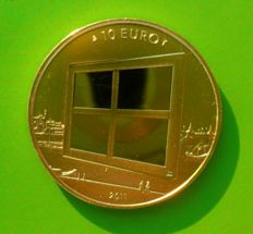 Netherlands - 10 Euro 2011 'Art of Painting' - Gold