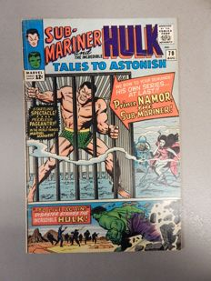 Marvel Comics - Tales of Astonish #70 - with Submariner stories - 1x sc - (1965)