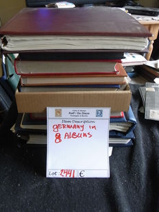 Germany Federal Republic, GDR or East Germany, Berlin 1948/2013 - Collection in 8 albums, in a large box.