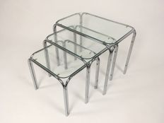 Manufacturer unknown - Vintage set of nesting tables