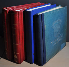 Netherlands and Overseas - Various collections in 4 albums