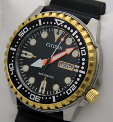 """Citizen Automatic  """"Gold Edition"""" with date display - Men's watch - New - New Men's Automatic watch"""