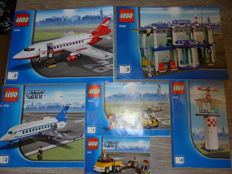 City - 3182 + 3181 - Airport + Airplane.