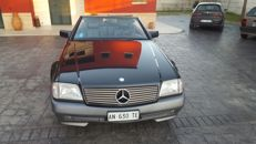 Mercedes SL 300 - 24 cabriolet fabric soft top + hardtop 1991
