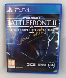 Star Wars - Battlefront II Elite Trooper Deluxe Edition (PS4) signed by Spencer Wilding - 2017