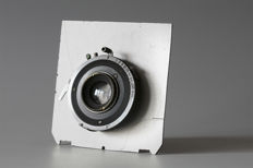 Unknown lens type with lens board that works perfectly on the Linhof Technika IV