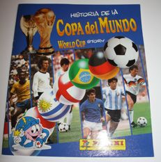 Panini - World Cup Story - 1990 - Complete album