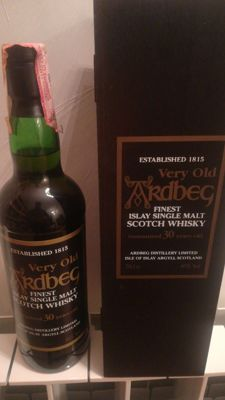 Ardbeg 30 years old - OB - bottled in the 1990s
