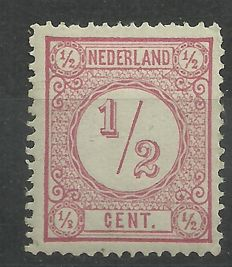 The Netherlands - Figure stamp, with secondary sheet error - Nvph 30 I P 3