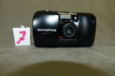 Olympus MJU – 1 Lens 35 mm 1: 3.5 N° 6099968 few signs of use, is in good and neat condition