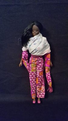 Rare dark-skinned barbie - Mattel - US - Live Action Christie