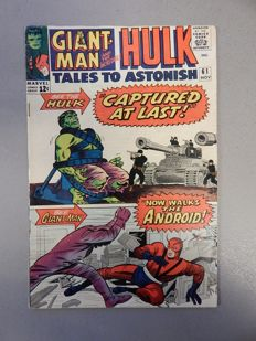 Marvel Comics - Tales of Astonish #61 - with Incredible Hulk and Major Talbot  - 1x sc - (1964)