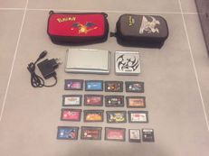 Nintendo Game Boy Advance SP and Nintendo DS  with 17 games