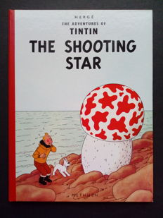 Tintin T10 - The Shooting Star - C - Seconde édition en anglais - (1965)