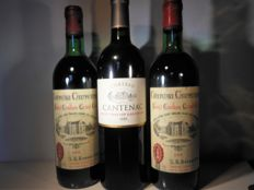 1978 Chateau Cantenac Saint Emilion Grand Cru x 2 bottles - 2000 Chateau Cantenac Saint Emilion Grand Cru x 1 bottle / 3 bottles in total
