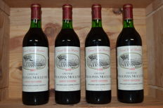 1979  Chateau Troupian Mouleyre - Saint-Estephe - 4 Bottles